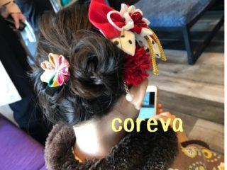 鳥栖の美容室 コレバで七五三ヘアセット 太宰府天満宮と水天宮にお参りへ 髪飾り手作り でも高くなく安い