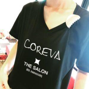 10周年美容室 コレバ スタッフ お揃いTシャツ チームTシャツ